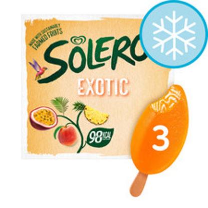 Picture of Solero Exotic Ice Cream 3 X 90Ml