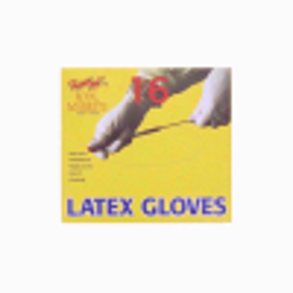 Picture of ROYAL LATEX POWDERED16 GLOVES LARGE (sp)