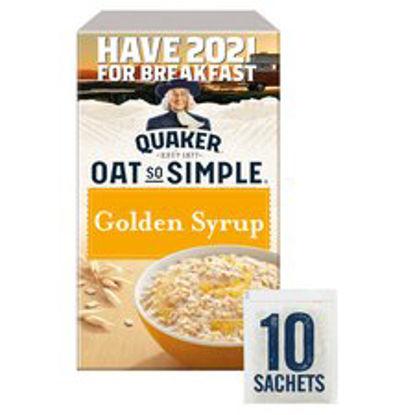 Picture of Quaker Oat So Simple Golden Syrup Porridge 10 X 36G