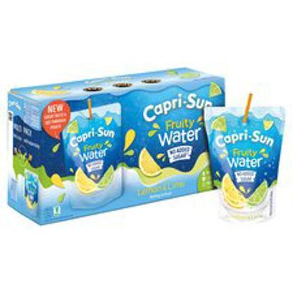 Picture of Capri Sun Fruity Water Lemon & Lime 10X200ml