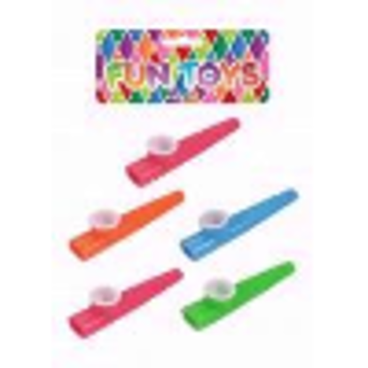 Picture of Bag Of 6 Kazoos 11cm (Assorted Colours)