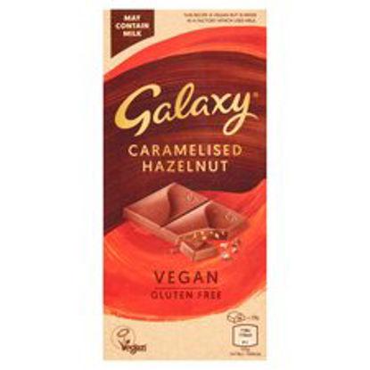 Picture of Galaxy Vegan Caramelised Hazelnut Bar 100G