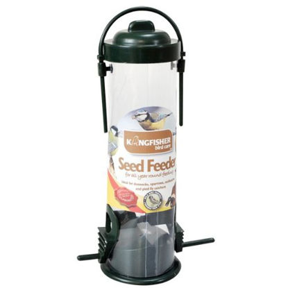 """Picture of KingFisher BF028 """"Green Standard"""" Bird Seed Feeder"""