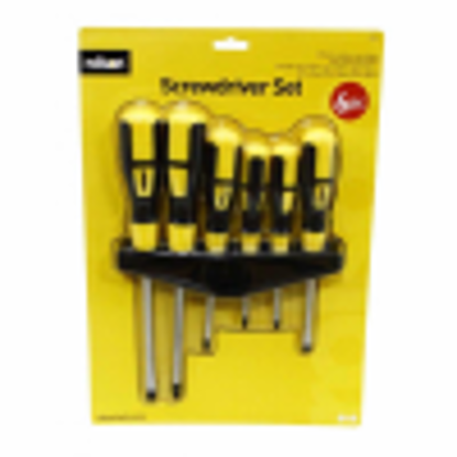 Picture of Rolson 28572 Screwdriver Set - 6 Pieces