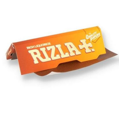 Picture of Rizla Rich Liquorice Ultra Thin Regular Cigarette Paper - Pack of 3 Booklets