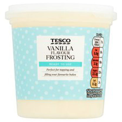 Picture of Tesco Vanilla Frosting 400G