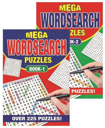 Picture of A5 Mega Word Search Book - 225 Puzzles - 21 x 14.5cm - 0% VAT