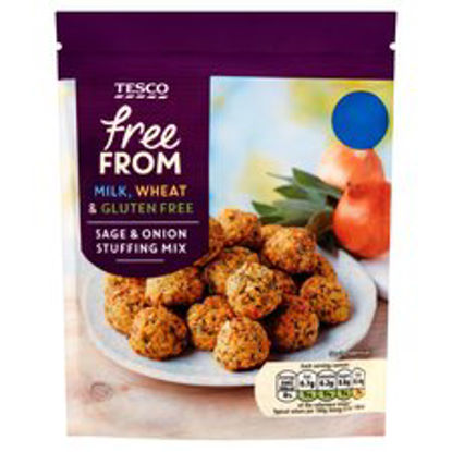Picture of Tesco Free From Sage & Onion Stuffing 170G