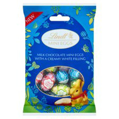 Picture of Lindt Mini Eggs Milk Chocolate With Creamy Filling 80G