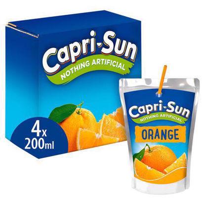 Picture of Capri-Sun Orange 4 x 200ml