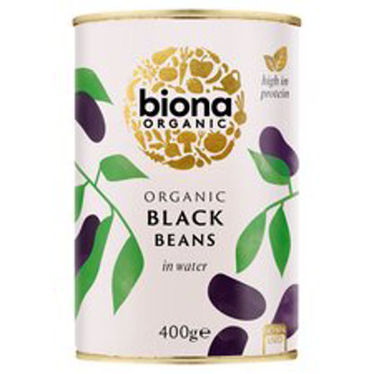 Picture of Biona Organic Black Beans 400G
