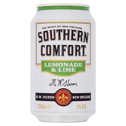 Picture of Southern Comfort Lemonade & Lime 330ml
