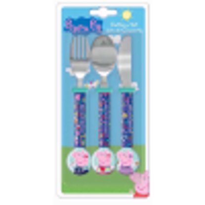 Picture of CUTLERY SET PEPPA PIG