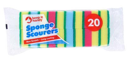 Picture of Keep it Handy Sponge Scourers - Pack of 20