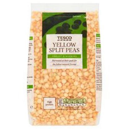 Picture of Tesco Yellow Split Peas 500G