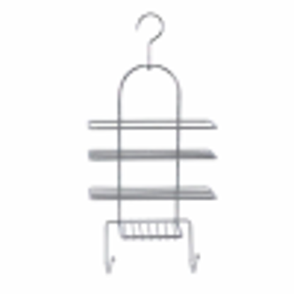 Picture of Sabichi Shower Caddy, Stainless-Steel, Silver, 51 cm