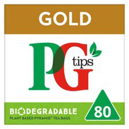Picture of Pg Tips Gold 80S Pyramid Teabags 232G