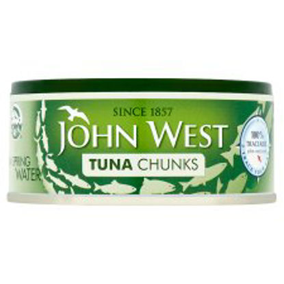 Picture of John West Tuna Chunks In Springwater 145G