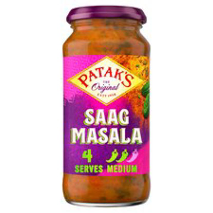 Picture of Patak's Saag Masala Cooking Sauce 450G