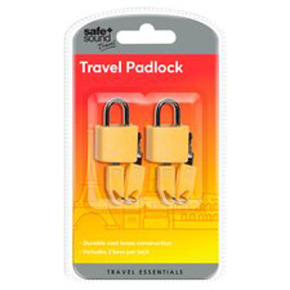 Picture of Safe And Sound Travel Padlocks ..
