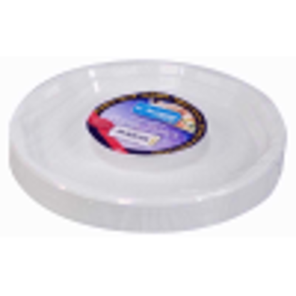 """Picture of Kingfisher BCP501 White Disposable Plastic Plates 10"""" Pack Of 50"""