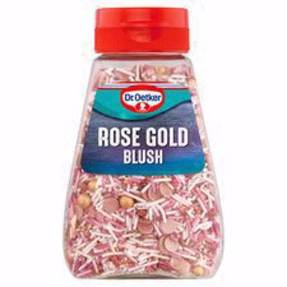 Picture of Dr Oetker Rose Gold Blush Sprinkles 115G