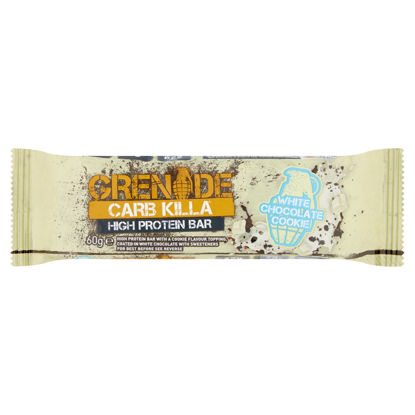 Picture of Grenade Carb Killa White Chocolate Cookie Protein Bar60g