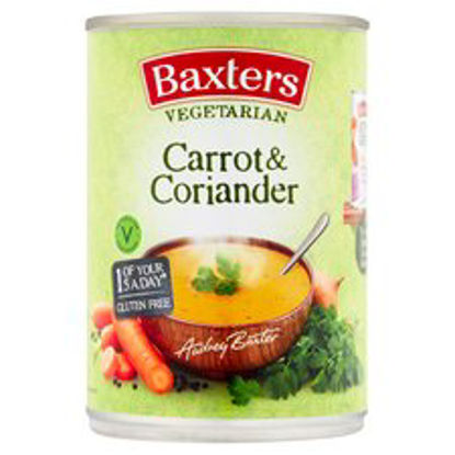Picture of Baxters Vegetarian Carrot & Coriander, 400g
