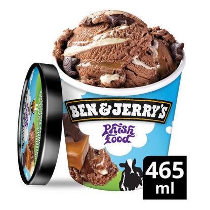 Picture of Ben & Jerry's Phish Food Ice Cream 465 ml