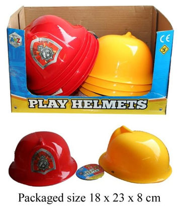 Picture of Children's Play Fire Helmet - Colours May Vary