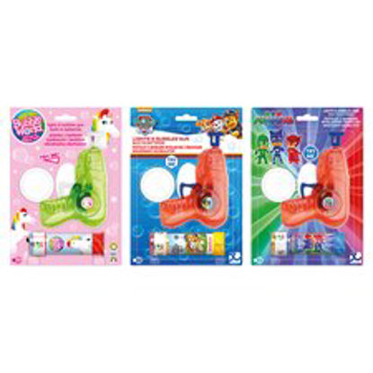 Picture of Licensed Bubble Gun With Lights Assorted