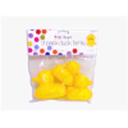 Picture of First Steps Set of 3 Rubber Duck Family For Kids Bath Time