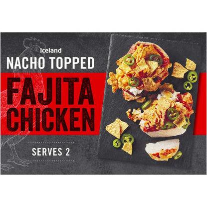 Picture of Iceland Nacho Topped Fajita Chicken 360g
