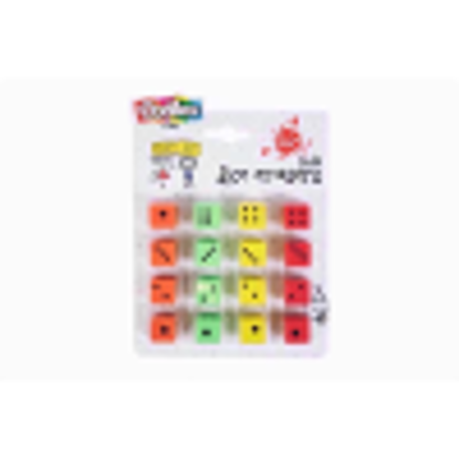 Picture of 20 x Dice Shaped Erasers - Party Bag Fillers