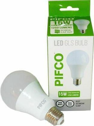 Picture of Pifco LED GLS Bulb - E27 Screw Cap - Warm White - 15W - 1250 Lumens
