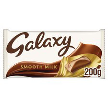 Picture of Galaxy Milk Chocolate Bar 200G