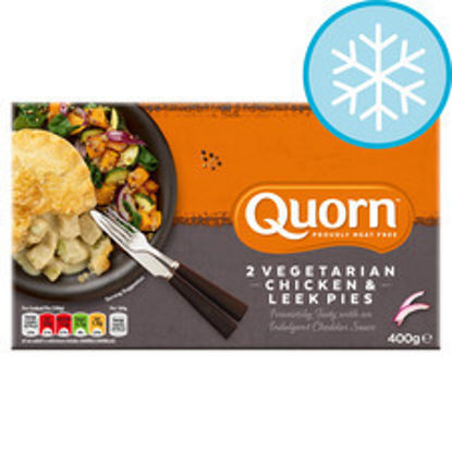Picture of Quorn 2 Chicken & Leek Pies 400G