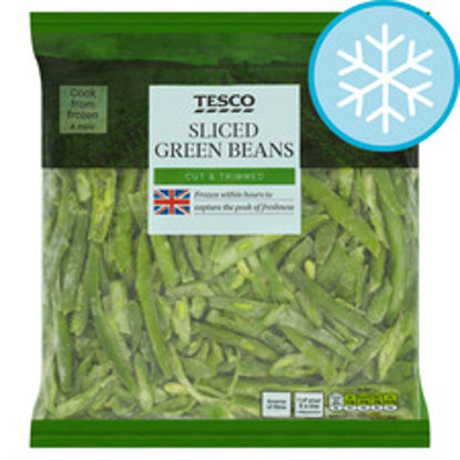 Picture of Tesco Sliced Green Beans 850G