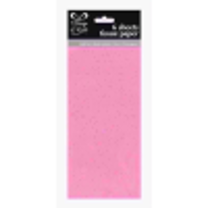 Picture of EUROWRAP TISSUE PAPER 6SHTS PINK