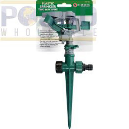 Picture of MARKSMAN PLASTIC SPRINKLER TWO WAY SPIKE