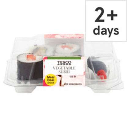 Picture of Tesco Vegetable Sushi Snack 55G
