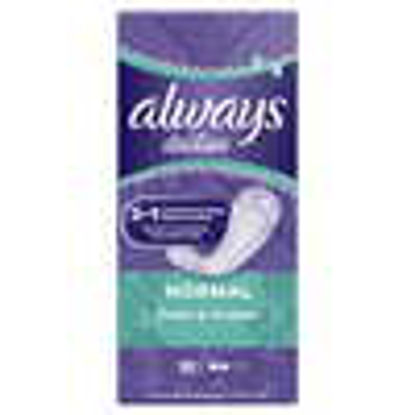 Picture of Always Dailies Fresh & Protect Pantyliners Normal 32