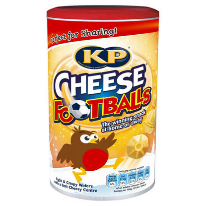 Picture of KP Cheese Footballs Caddy 142g
