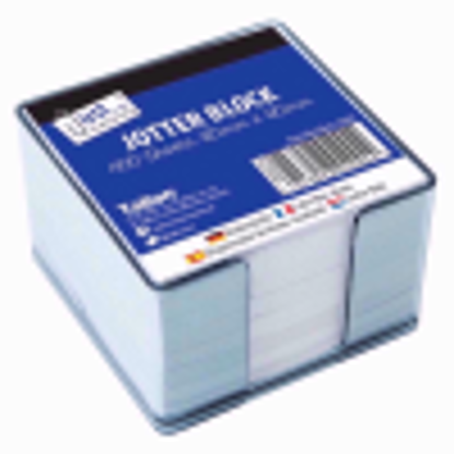 Picture of Just Stationery 400 Sheet Jotter Block In