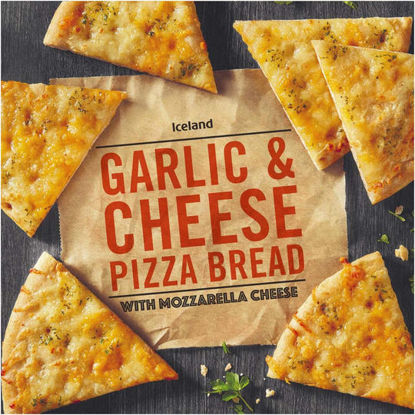 Picture of Iceland Garlic and Cheese Pizza Bread 245g