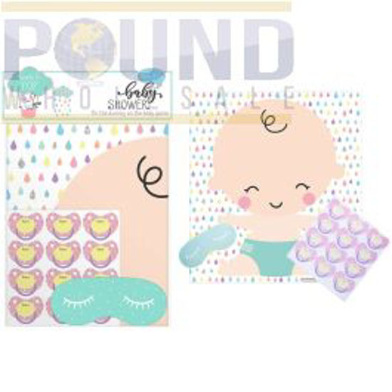 Picture of BABY SHOWER PIN DUMMY ON BABY GAME