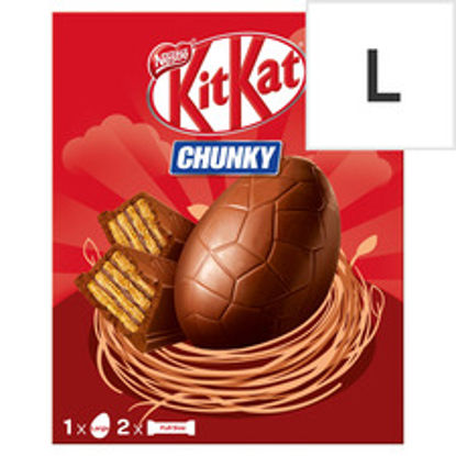 Picture of Kit Kat Chunky Milk Chocolate Large Egg 260G