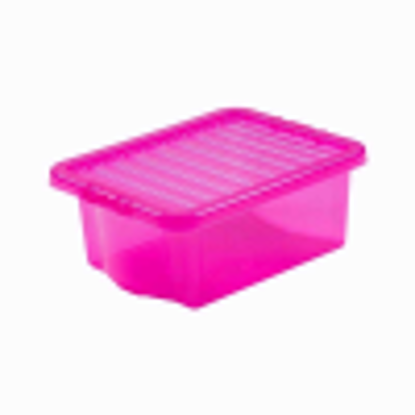 Picture of WHAM CRYSTAL 16LTR PINK  BOX & LID