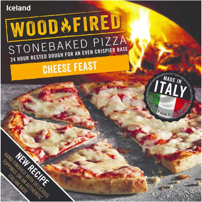 Picture of Iceland Cheese Feast Stonebaked Pizza 298g