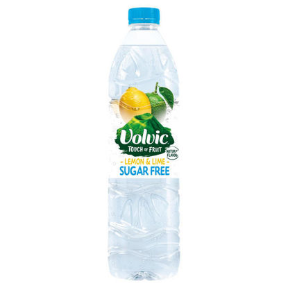 Picture of Volvic Touch Of Fruit Lemon & Lime Sugar Free 1.5Ltr